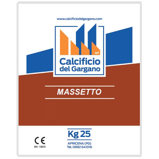 Massetto calcificio del gargano - Massetto tradizionale ...